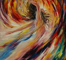 IN THE VORTEX OF PASSION - LEONID AFREMOV by Leonid  Afremov
