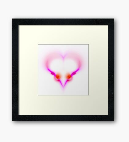 Love is ... Framed Print