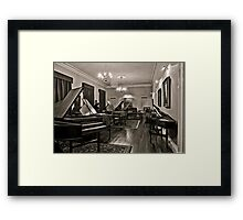 Museum Of Music (HDR Fractalised) =D Framed Print