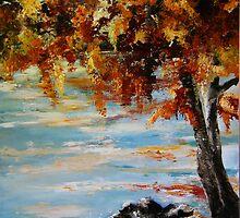 Autumn Beach by atelier1