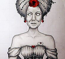 HitRECord Ancestry: The Queen of Hearts by BaileyART