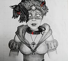 HitRECord Ancestry: The Duchess of Dark Creatures by BaileyART
