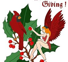 Two Cardinals/The Season for Giving! by redqueenself
