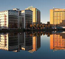 Sunday on the Lagan by Alan McMorris