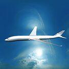 Dream Liner in the Sky by Nasko .
