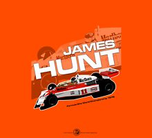 James Hunt - F1 1976 Unisex T-Shirt