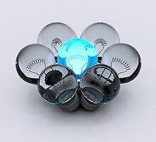 Group of Bulbs by Atanas Bozhikov