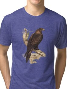 Wedge-Tailed Eagle. Australia's largest bird of prey Tri-blend T-Shirt