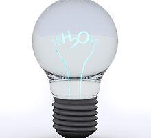 H2O Bulb by Digital Editor .