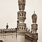 Mosque from the 16th century - at Hyderabad, India by Neha Singh
