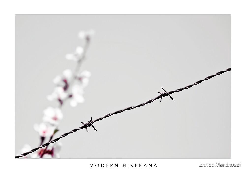Modern Ikebana by Enrico Martinuzzi
