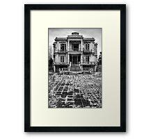 The Salem Mansion Framed Print