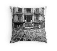 The Salem Mansion Throw Pillow