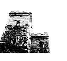 Spooky building Photographic Print