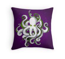 Mutant Zombie Dectopus Throw Pillow