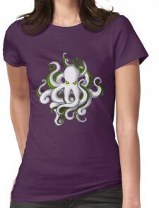 Mutant Zombie Dectopus Womens Fitted T-Shirt