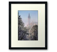 Kelvingrove Winter (3) Framed Print