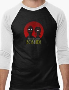 Adventures of Bob and Linda Men's Baseball ¾ T-Shirt