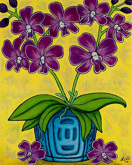 Orchid Delight by LisaLorenz