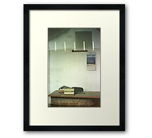 Closed Real Estate Office, Clifton Hill Framed Print