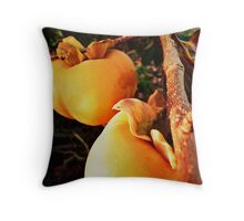 Autumn Saturation II Throw Pillow