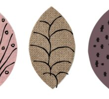 Nature Inspired Leaves  Sticker