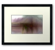 Help me to memorize the pain Framed Print