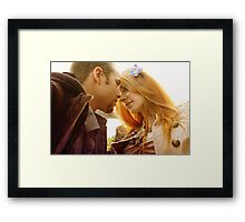 Stolen Kisses Framed Print