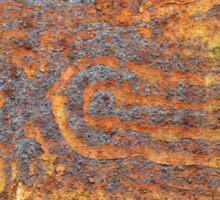 Desert Tracks Sticker