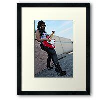 Rock Star Framed Print