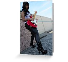 Rock Star Greeting Card