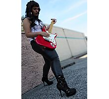 Rock Star Photographic Print