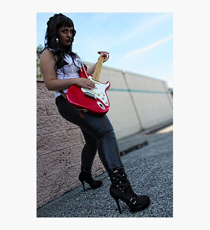 Rock Star Photographic Print