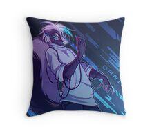 Darius Alpha Throw Pillow