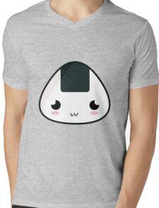 Kawaii Rice Ball Mens V-Neck T-Shirt