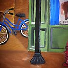 """Bicycle in the Alley""  by Melissa Goza"
