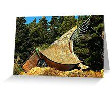 Prayer Chapel, Sea Ranch, California Greeting Card