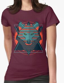 Wolf gift Womens Fitted T-Shirt