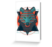 Wolf gift Greeting Card