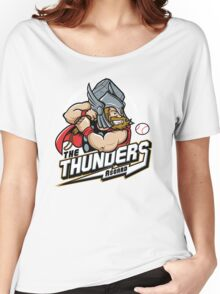 THE THUNDERS BASEBALL Women's Relaxed Fit T-Shirt
