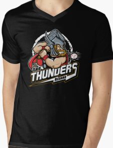 THE THUNDERS BASEBALL Mens V-Neck T-Shirt