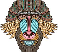Monkey gift by MrNicekat