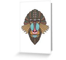 Monkey gift Greeting Card