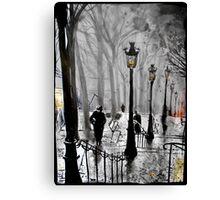 lamps of Paris Canvas Print