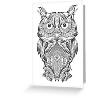 Owl gift Greeting Card