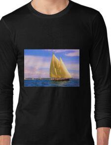 Sailing The Sound Long Sleeve T-Shirt
