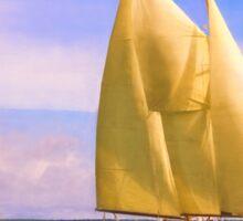 Sailing The Sound Sticker