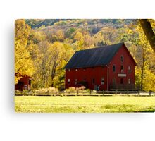 Foliage in Kent ~ Connecticut, USA Canvas Print
