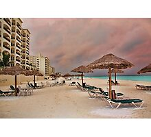 Royal Caribbean Resort Photographic Print