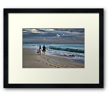 Family Time Framed Print